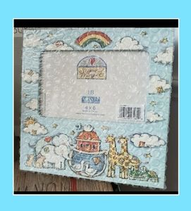 Noah's Ark Picture Frame. NEW